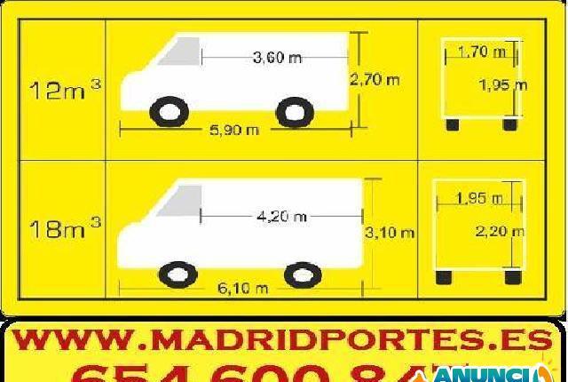 MUDANZAS MADRID PORTES - Madrid