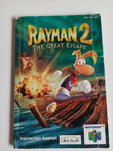 Manual rayman 2 nintendo 64