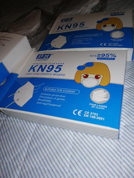Mascarillas kn95 con certificado de la comunidad e