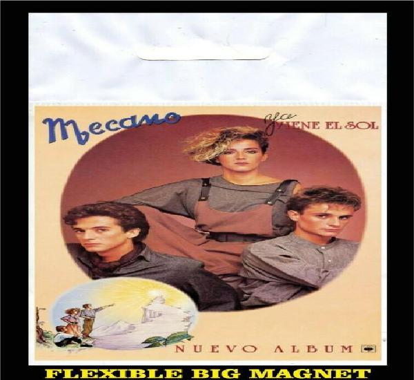 Mecano ya viene el sol flexible big magnet imán grande
