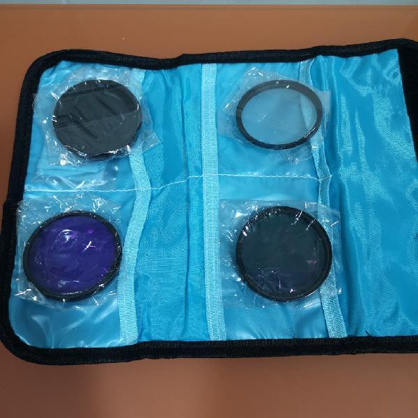 Pack filtros 58mm