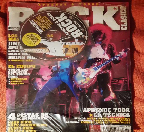 Revista guitarra acordes - aprende a tocar rock clásico