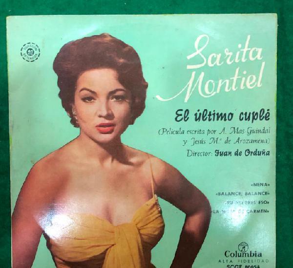 Sarita montiel el último cuplé / nena / balance, balance /