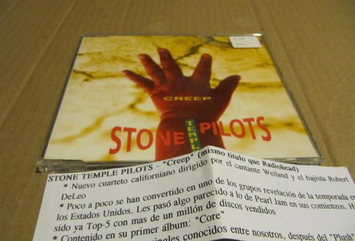 Stone temple pilots. creep. cd single cadena 100