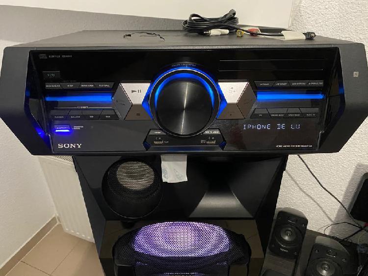 Sistema de audio bluethoot sony de alta potencia.