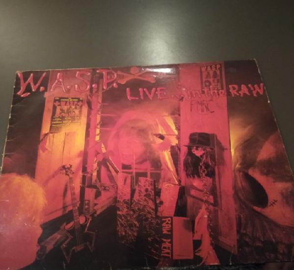 "W.a.s.p. "" live... in the raw "" edición española"