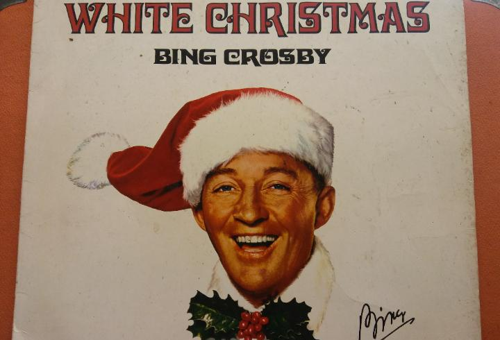 White christmas. bing crosby. mca coral