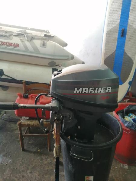 Fueraborda, motor, zodiac, barca, barco