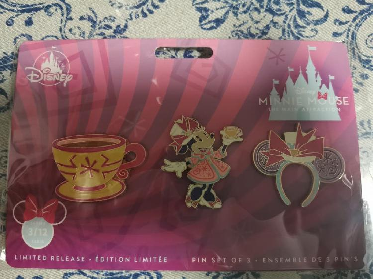 Pin set minnie the main attraction