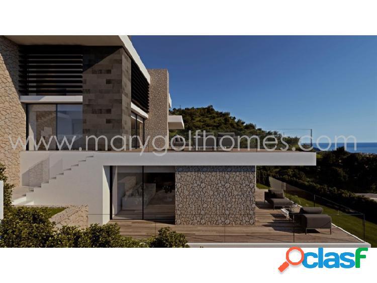 Villa de estilo moderno en cumbres del sol, alicante