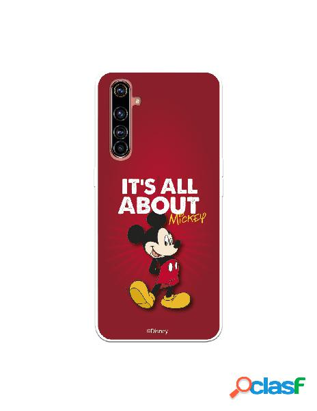 Funda para realme x50 pro oficial de disney mickey it's all about - clásicos disney