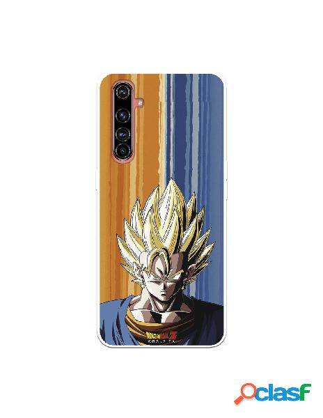Funda para realme x50 pro oficial de dragon ball vegeto silueta - dragon ball