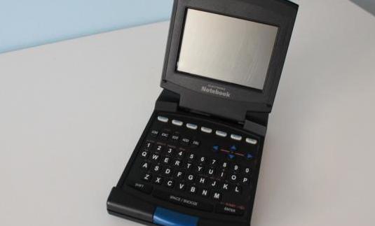 Agenda electrónica ck822. notebook