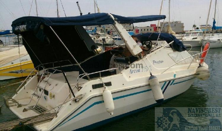 Arcoa Yacht 752 PRESTIGE Y MOTOR AUXILIAR