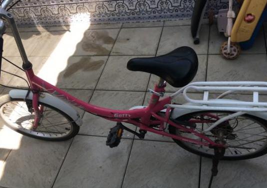 Bicicleta jovencita
