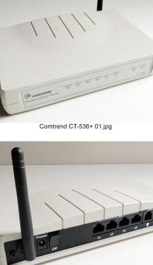 Conjunto de routers variados