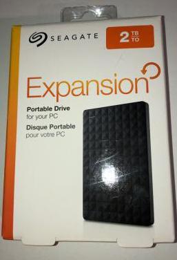 Disco duro externo seagate expansion 2tb