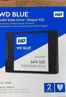 Disco ssd 2tb sata3 western digital wds200t2b0a