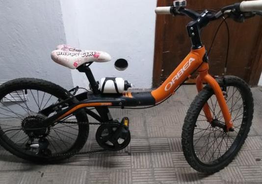 Dos bicicletas orbea grow junior 20 pulgadas