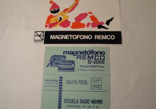 Escuela radio maymó.publicidad remco