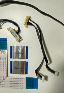 Flex, conexiones, cables, lvds samsung
