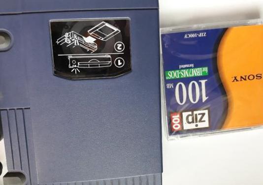 Lector externo disquetes de 100mb iomega zip
