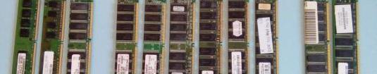 Memorias RAM / internas