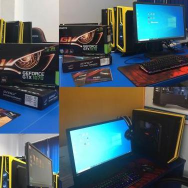 Pc gaming i5 7600k - gtx 1070 - 16gb ram