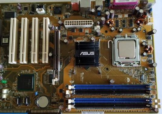 Placa base asus psp800se y micro en funcionamiento