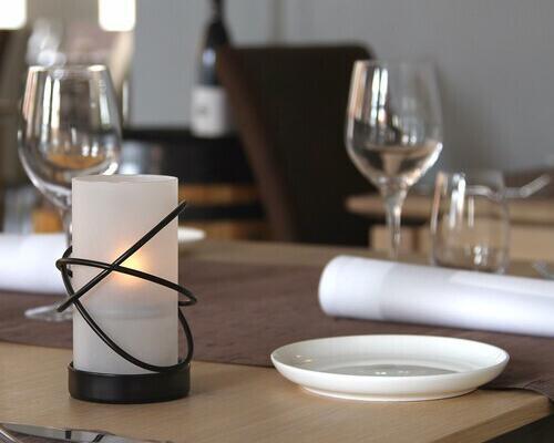Portavelas Atomic para Restaurantes & Terrazas