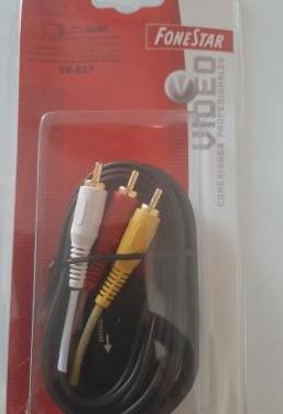 Cable euroconector rca a 3 rca