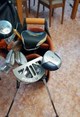Palos golf y bolsas