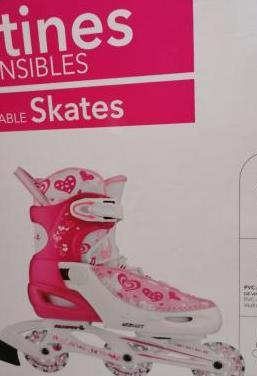 patines en linea, extensibles
