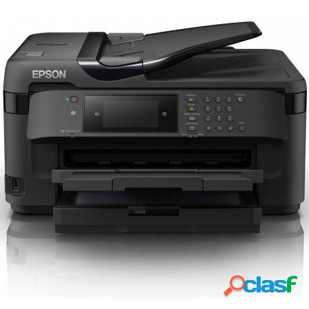 Multifuncion epson wifi con fax workforce wf-7710dwf - a3+ - 32/20 ppm