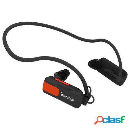 Reproductor mp3 sunstech triton black 4gb - waterproof sumergible hast