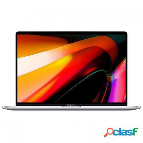 """Apple macbook pro intel core i7/16gb/512gb ssd/radeon pro 5300m/16"""" plata"""