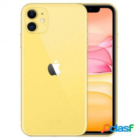 Apple iphone 11 64gb amarillo libre reacondicionado (va en caja blanca y sin cargador)