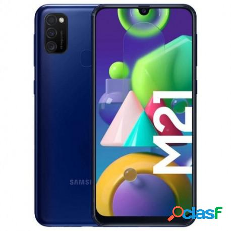 Samsung galaxy m21 4/64gb azul libre