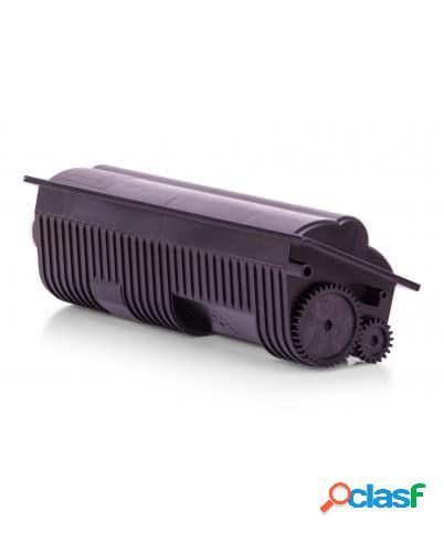 Tóner compatible kyocera tk110, color negro, 6000 pag