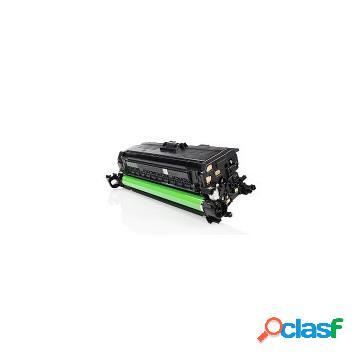 Tóner compatible hp ce260x/648xbk, color negro, 17000 pag