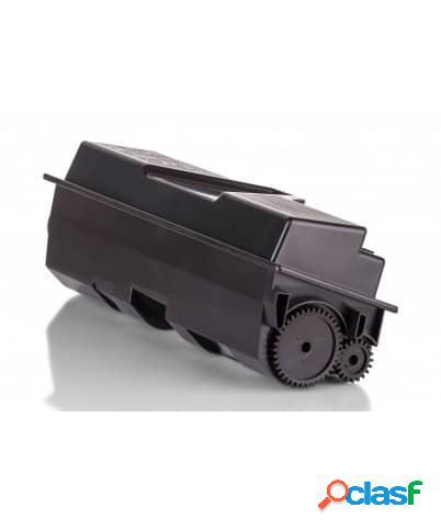 Tóner compatible kyocera tk140, color negro, 4000 pag