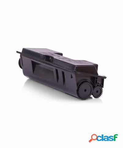 Tóner compatible kyocera tk18, color negro, 7200 pag