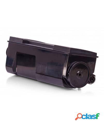 Tóner compatible kyocera tk65, color negro, 20000 pag
