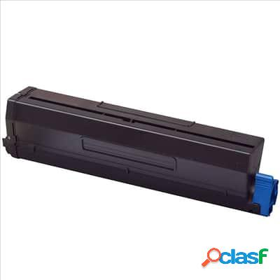 Tóner compatible oki b410/b430/b440, color negro, 7000 pag