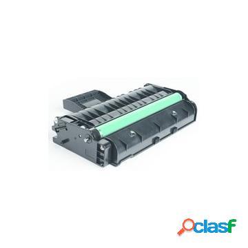 Tóner compatible ricoh 407254/sp201he, color negro, 2600 pag