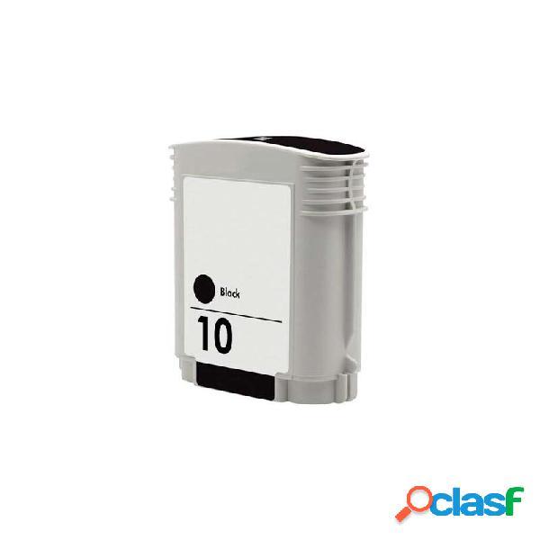 Cartucho de tinta compatible hp c4844ae, hp 10, color negro, 69 ml