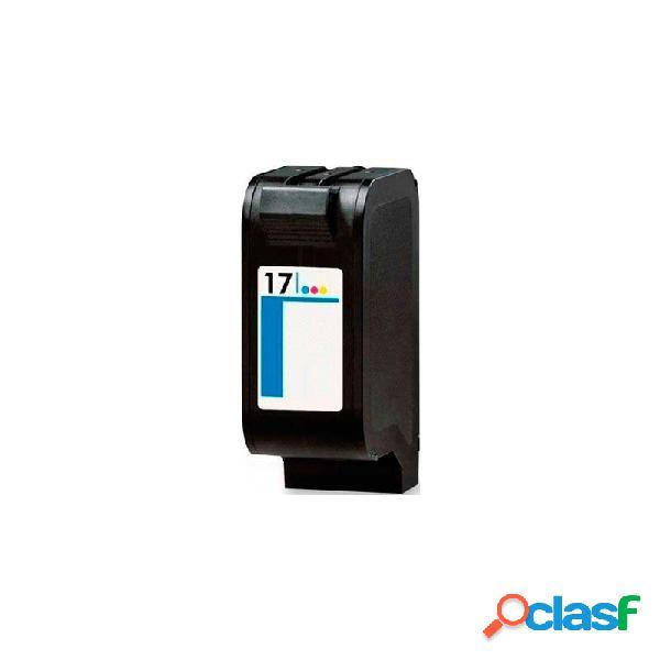 Cartucho de tinta compatible hp c6625a, hp 17, tricolor, 15 ml