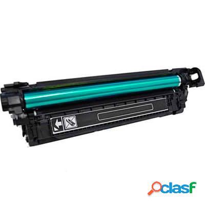 Tóner compatible hp ce250x/h250x, color negro, 10500 pag
