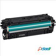 Tóner compatible hp cf360x/508xbk, color negro, 12500 pag
