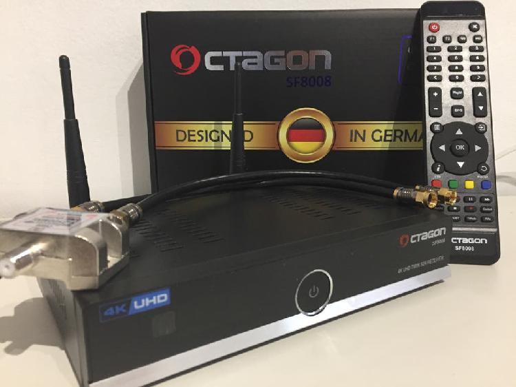 Deco octagon sf8008 4k #enigma2